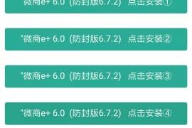苹果微商e+6.0/e+7.0/e+8.0微信一键转发防封版多开分身6.5.10版本微信全球和谐